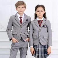 Wholesale Cute Design International Primary School Uniform for Kids from china suppliers