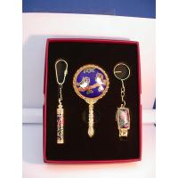 Wholesale Nail Clipper Cloisonne rectangle nail clipper & perfume bottle & mirror from china suppliers