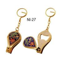 Wholesale Key chain Cloisonne nail clipper & bottle opener from china suppliers