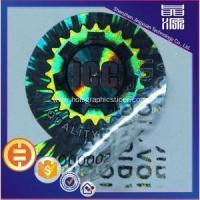 Buy cheap VOID Tamper Evident Hologram Label Sticker Printing from wholesalers