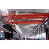 Buy cheap Double Girder Overhead Bridge Crane with Electric Hoist for Lifting Heavy Duty Materials from wholesalers