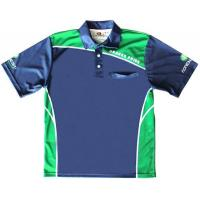 Buy cheap Fashion Stylish High Quality Striped Custom Sublimated Bowling Shirts from wholesalers