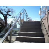 Buy cheap Exterior Cement Stair Railing with Aluminum Slot Baluster from wholesalers
