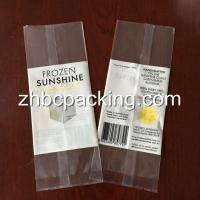 Wholesale Back Side Seal Clear Transparent Freeze Ice Popsicle Packaging Bag Popsicle Wrappers from china suppliers