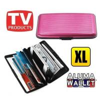 Buy cheap As Seen On TV RFID Security Large Aluminum Wallet/Long Credit Card&Cash Holder from wholesalers