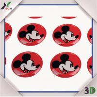 Buy cheap Promotional Gifts Disney cartoon Epoxy Dome Sticker from wholesalers