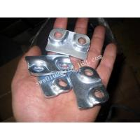 Buy cheap OEM Custom Metal Stamp For Steel In Zinc Plated product