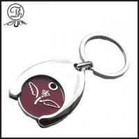 Wholesale Custom Trolley tokens coin keyrings from china suppliers