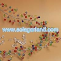 Buy cheap Faceted Crystal Bead Garland Wire Beaded Branch from wholesalers
