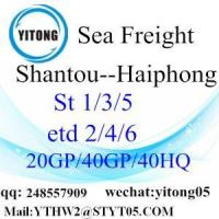 Buy cheap Sea Freight to Southest Asia International Shipping Service From Shenzhen to Haiphong from wholesalers