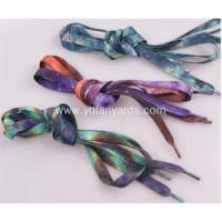 Buy cheap Shoe Lace Flat Colorful Sublimation Shoelace from wholesalers