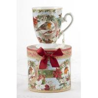 Wholesale Holiday Sale Items Christmas Bird Mug from china suppliers