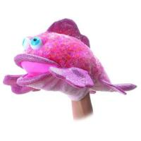 Buy cheap HF-1004 soft velboa fish hand puppet from wholesalers