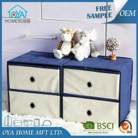 Wholesale Fabric Cardboard Cubical Shelf Basket Drawer Container from china suppliers