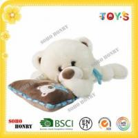 Buy cheap TOYS Plush Polar Bear White Teddy Bear Wholesale with Pillow from wholesalers