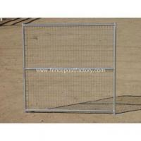 Buy cheap Galvanised chain link dog kennel panels from wholesalers