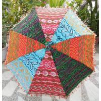 Buy cheap Luxury Rajasthani Handmade Umbrellas Decoration from wholesalers