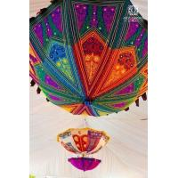 Buy cheap Luxury Textile Umbrella Decoration from wholesalers