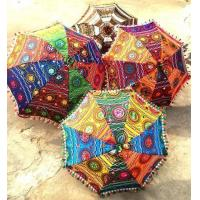 Buy cheap Luxury Indian Wedding Handicraft Umbrellas from wholesalers