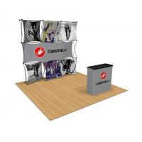 Buy cheap Exhibition Wall Pop Up Banner Stands Backdrop Aluminum Plastic Material from wholesalers