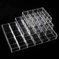 Buy cheap Clear View Plastic Jewellery Beads Box Compartment Storage Box from wholesalers