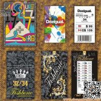 3D Hangtags clothing material tags