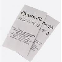 Coated Nylon Care Label Manufactures