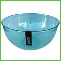 Buy cheap Kitchen Items 26cm Big Transparent Plastic PS Salad Bowls from wholesalers