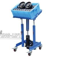 China Mobile Hydraulic Work Positioner Cart 150KG on sale