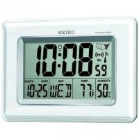 Buy cheap Seiko QHR020WLH Radio Controlled LCD Clock from wholesalers