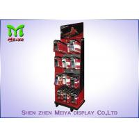 Buy cheap Counter Peg Hook Display Rack / Small Cardboard Display Stands To Mobile Accessories from wholesalers