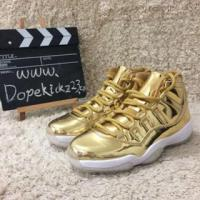 Wholesale Authentic Air Jordan 11s All Gold from china suppliers