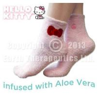 Envelop your feet with velvety softness with our HELLO KITTY Aloe Moisture Aloe Socks Manufactures