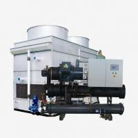 Buy cheap Industrial Evaporative Screw Chiller from wholesalers