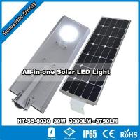 HT-SS-6030,30W LED lamp with 60W solar Manufactures