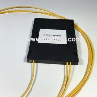 1x2 PLC Fiber Splitter ABS Box With Connector SC/ST/FC/LC 2.0mm cable 1 length Manufactures