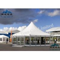 Buy cheap UV Resistant Pagoda Replacement Canopy With Sandwich Panel Walls And ABS Walls from wholesalers