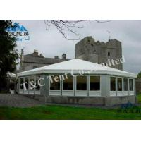 Flame Retardant Outside Event Tents Sound Insulation With Light Frame Steel Structure Manufactures