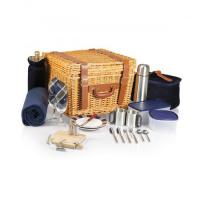 Wholesale Picnic Time Canterbury Willow Basket for Two from china suppliers