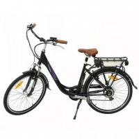 Buy cheap 2017 new style 26 inch electric charging electric bikes with pedals city electric bike from wholesalers