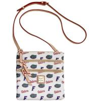 Buy cheap Women's Florida Gators Dooney & Bourke Triple Zip Crossbody Purse from wholesalers