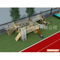 Buy cheap Competitive Price High Quality Wooden Outdoor Playground Equipment for Sale from wholesalers
