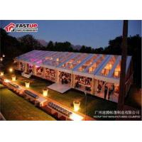 Buy cheap Outdoor Meeting Aluminum Frame Canopy Tents With Sidewall No Deformation from wholesalers