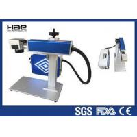 Easy Maintenance Fiber Laser Marking Machine For LED Lamp Cup CE Certificated Manufactures