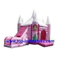 Buy cheap Inflatable Bouncers Barbie Bouncer House from wholesalers