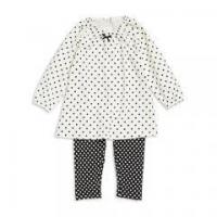 Buy cheap 100% Cotton interlock pajama set children clothing baby layette sets from wholesalers