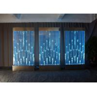 Buy cheap Wall Mount LED Bubble Wall Panel Indoor Fountains Water Features Aquarium Water Fall from wholesalers
