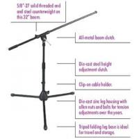 Onstage MS7411B Microphone Stands and Accessories Manufactures