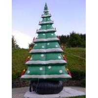 Buy cheap Inflatable Christmas tree with led lights customized,inflatable Christmas decoration with led from wholesalers
