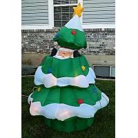 Buy cheap Inflatable Christmas tree with snow Christmas decoration from wholesalers